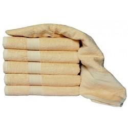 Frottír törölköző Aaryans 70x140 cm - Világosbarna