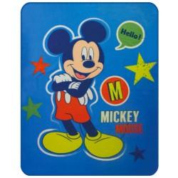 Gyermek fleece pléd 110x140 cm - Mickey Expressions