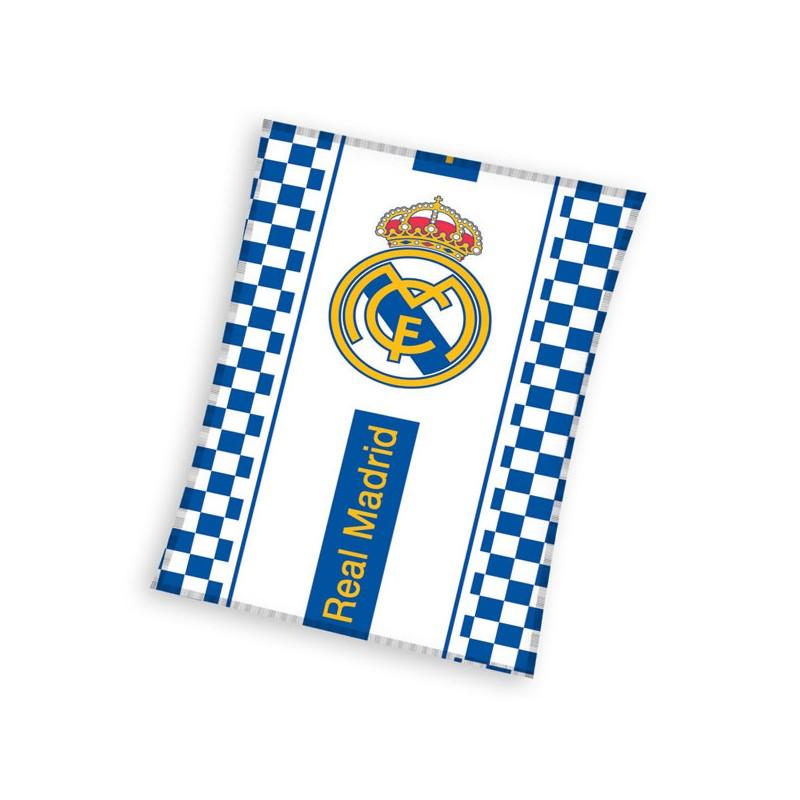 Gyermek fleece pléd 110x140 cm - Real Madrid 7c4fbd74be
