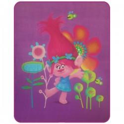 Gyermek fleece pléd 110x140 cm - Trollok, Poppy