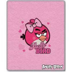Gyermek fleece pléd 120x150 cm - Angry Birds Pretty Bird