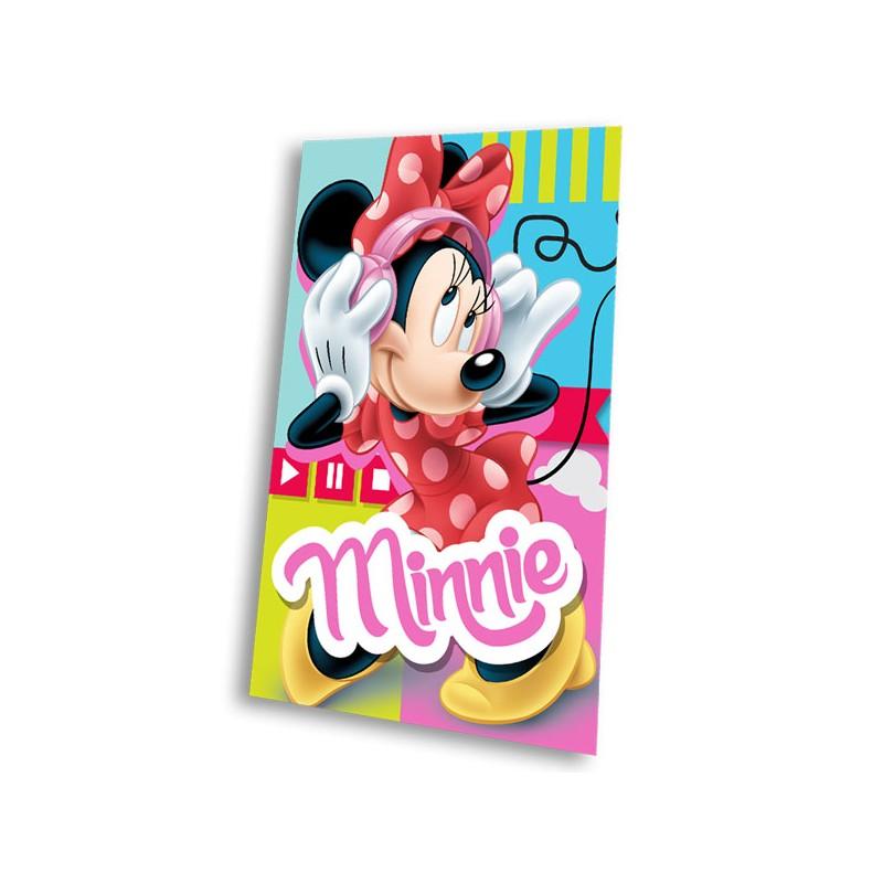 Gyermek fleece pléd 100x150 cm - Minnie Music - NAAU HU 5a74e4b514