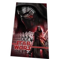 Gyermek fleece pléd 100x150 cm - Star Wars Kylo Ren