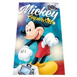 Gyermek fleece pléd 100x150 cm - Mickey SuperStar
