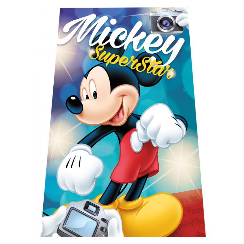 Gyermek fleece pléd 100x150 cm - Mickey SuperStar - NAAU HU 53c75b6e13