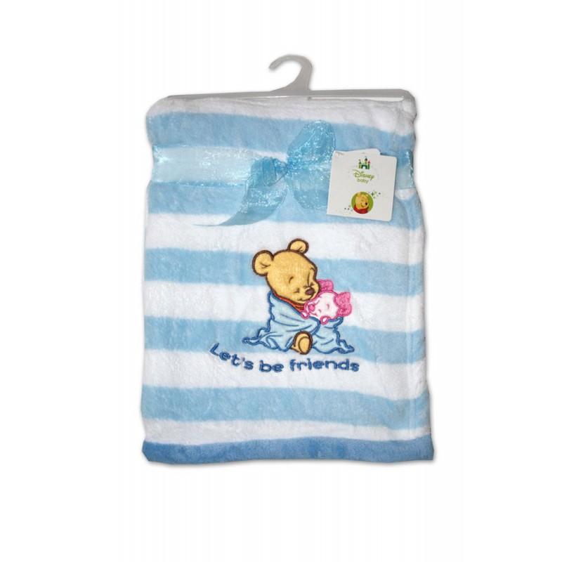 Gyermek micropolar fleece pléd 76x102 cm - Fehér Kék - NAAU HU e66fb60ad5