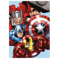 Gyermek fleece pléd 100x140 cm - Avengers