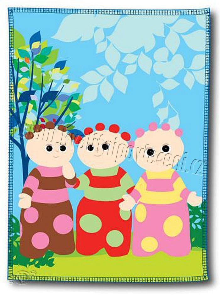 Gyermek fleece pléd 120x160 cm - Esti kert - NAAU HU d735a45c24