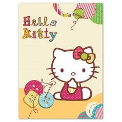 Gyermek spanyol pléd 80x110 cm - Hello Kitty II