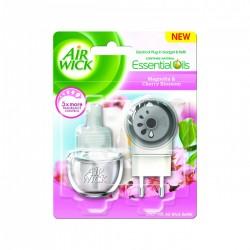 Air Wick elektromos légfrissítő, készülék & utántöltő - Magnólia és cseresznyevirág