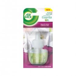 Air Wick folyékony utántöltő elektromos légfrissítőbe - Finom szatén és liliom