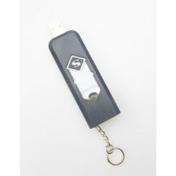 Elektromos öngyujtó USB töltéssel - fekete