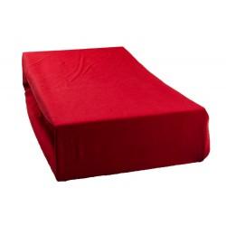Jersey lepedő - Piros