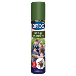 Bros - rovarriasztó spray ruhára, 90ml