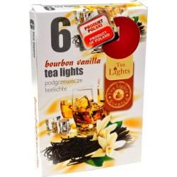 Admit illatos teamécsesek - 6 db - Bourbon és vanília