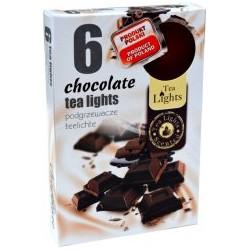 Illatos teamécsesek (6db) - Csokoládé