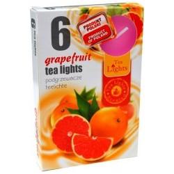 Illatos teamécsesek (6db) - Grapefruit