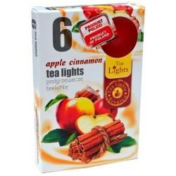 Admit illatos teamécsesek - 6 db - alma és fahéj