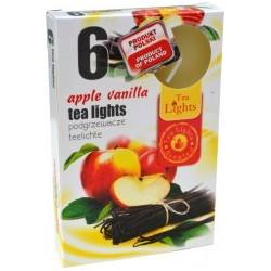 Admit illatos teamécsesek - 6 db - Alma és vanília