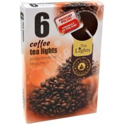 Illatos teamécsesek (6db) - Kávé