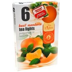 Illatos teamécsesek (6db) - Mandarin