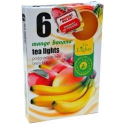 Illatos teamécsesek (6db) - Mangó és banán