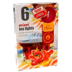Illatos teamécsesek (6db) - Orient