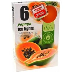 Illatos teamécsesek (6db) - Papaya