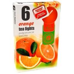Admit illatos teamécsesek - 6 db - narancs
