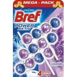 Bref Power Aktiv WC illatosító golyók - Levendula - 3 db