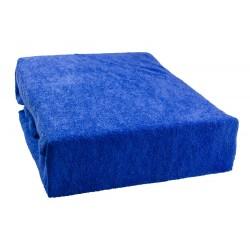 Frottír lepedő - Kék