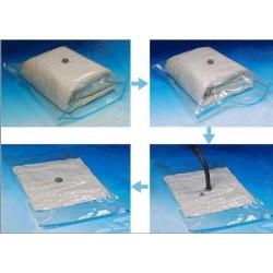 Vákum tasak szezonális ruha tárolására - 70x100 cm