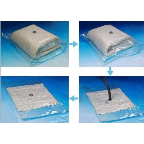 Vákum tasak szezonális ruha tárolására - 60x80 cm