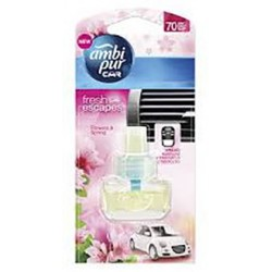 Ambi pur Car Complete 7ml - Flowers and spring, utántöltő