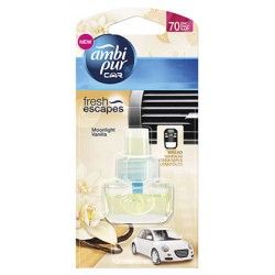 Ambi pur Car Complete 7ml - Moonlight vanilla, utántöltő