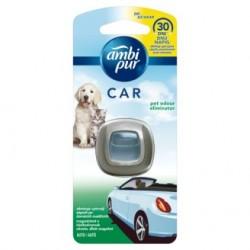 Ambi Pur CAR - Állati szagokat semlegesítő autóillatosító 2 ml + Készülék