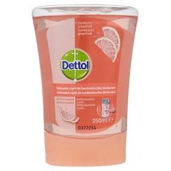 Dettol utántöltő érintés nélküli kézmosó adagolóba – Grapefruit - 250 ml