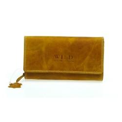 Női pénztárca Wild Club Only - homok színű