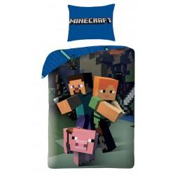 Pamut ágyneműhuzat gyerekeknek - Minecraft