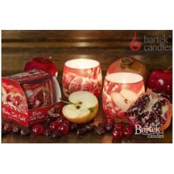 Illatos gyertya üvegben – Piros gyümölcsök illata, 100g