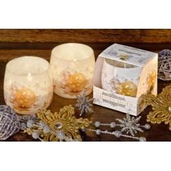 Illatos gyertya üvegben - Karácsonyi álom, 100g