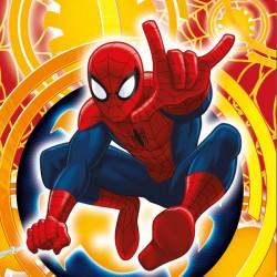 Kispárna huzat 40x40 cm - Spiderman