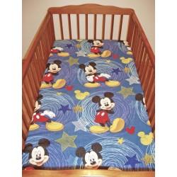 Gyermek lepedő (60x120) - Mickey Mouse