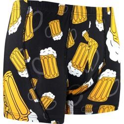 Sör motívumú boxeralsók - sör - fekete
