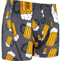 Sör motívumú boxeralsók - sör - szürke