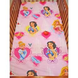 Gyermek lepedő - Disney hercegnők