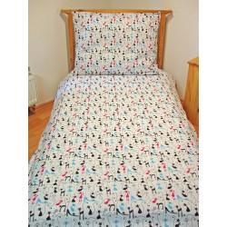 Pamut ágyneműhuzat - Macskák