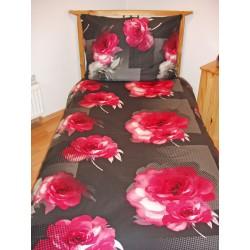 Szatén ágyneműhuzat - Royal pink