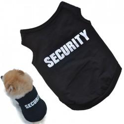 Pamut kutya póló SECURITY