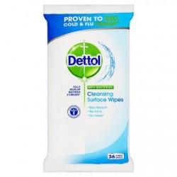 Dettol antibakteriális törlőkendők - 36 db